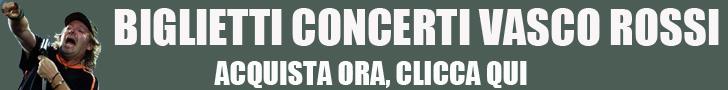 Biglietti Vasco Rossi
