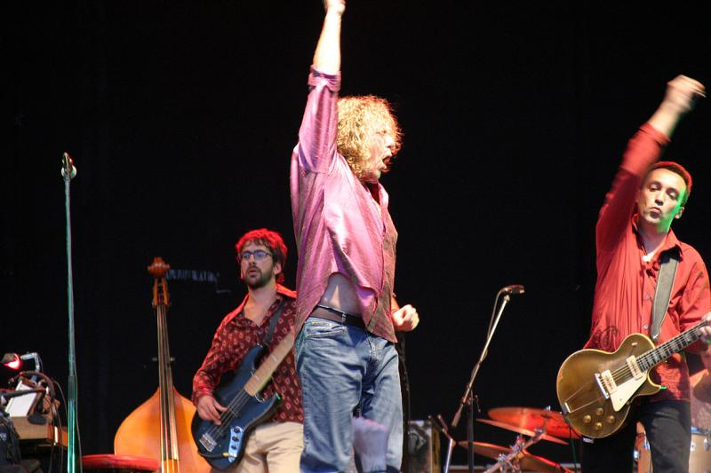 Robert Plant Live Napoli