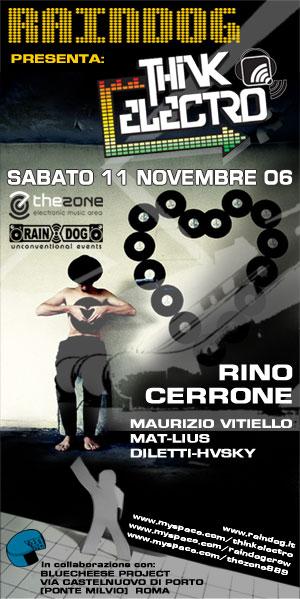 THINK ELECTRO: Rino Cerrone