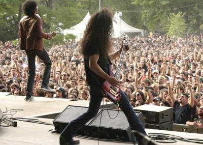 Gli Alice in Chains sul palco del Gods of Metal 2006
