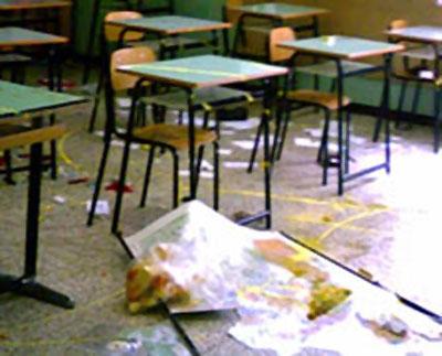 danneggiamenti scuola angri
