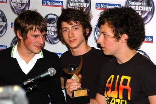 Arctic Monkeys BRIT Awards