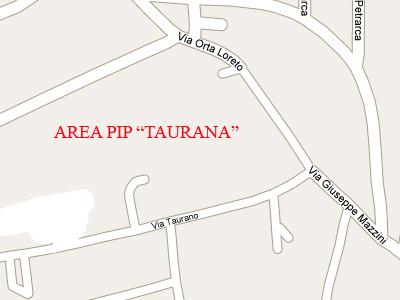 Piano Insediamenti Produttivi Taurana