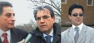 Marcello Ferrara, Pasquale Mauri, Luigi Nocera UDEUR