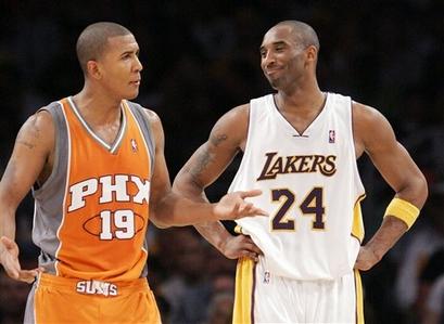 Raja Bell, Kobe Bryant