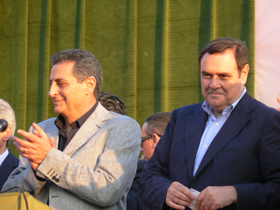 Clemente Mastella e Pasquale Mauri