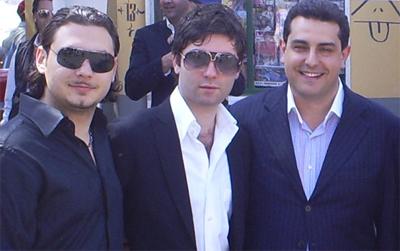 Rosario Malescia (presidente AG), Gianluca Giordano e Gianpaolo Mazzola