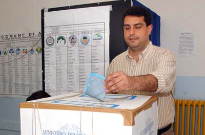 Mazzola vota