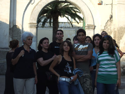 Episcopio, i ragazzi libanesi insieme a Jocelyne Khoueiry