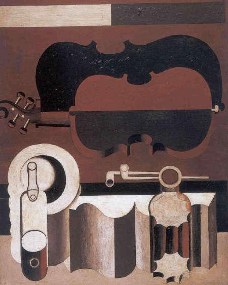 Un quadro di Le Corbusier