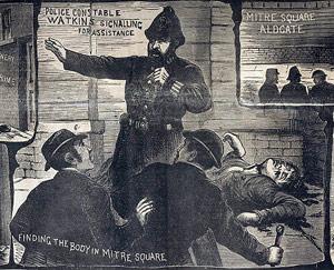 Jack lo Squartatore - scena del crimine