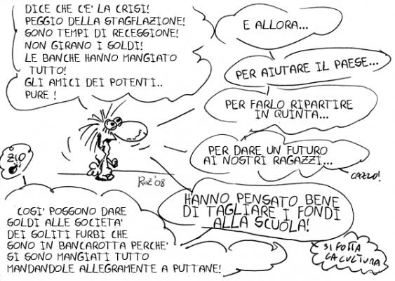 7/11 Corteo a Salerno contro Legge 133