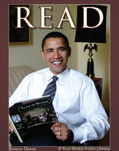 Barack Obama legge