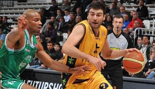 Costas Vasileiadis (Dx) e Gary Neal