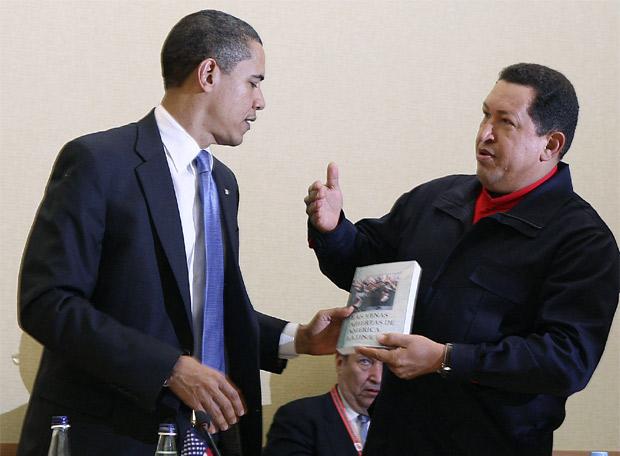 Chavez regala ad Obama il libro