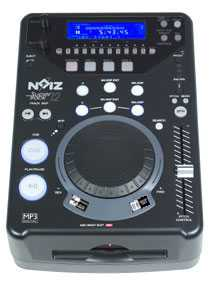 NOIZ CD PLAYER DJ CARICA FRONTALE SUPERTRACK 12