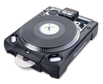NUMARK CD PLAYER CARICA FRONTALE NUMARK CDX