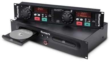 NUMARK CD PLAYER DOPPIO CD CARICA FRONTALE CDN 25 + G