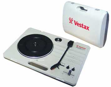 VESTAX GIRADISCHI PORTATILE 33 45 78 GIRI HANDY TRAX