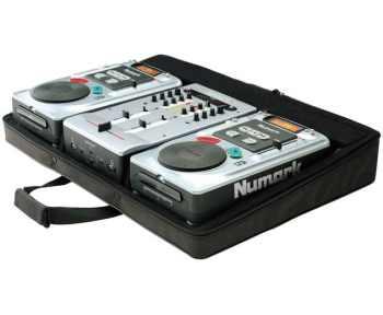 DJ KIT NUMARK DOPPIO CD + MIXER FUSION 222