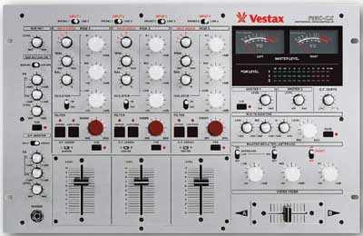 VESTAX MIXER 3 CANALI PMC-CX 