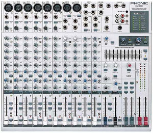 MIXER PHONIC MU 1822X 