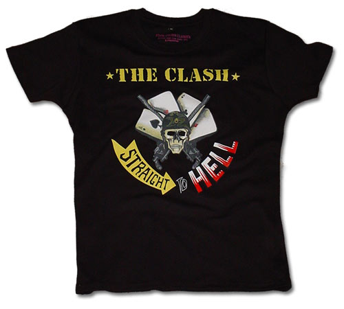 The Clash To Hell womens t-shirt